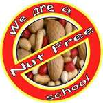 Please do not bring nuts into school